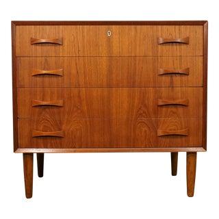 "Original Danish Low Boy Teak Dresser - ""Karin"""