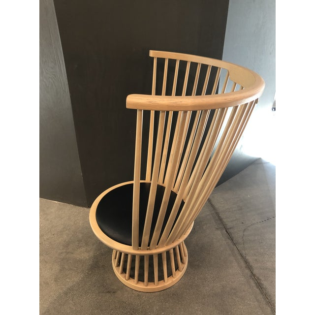 Tan Tom Dixon Fan Chair Natural For Sale - Image 8 of 12