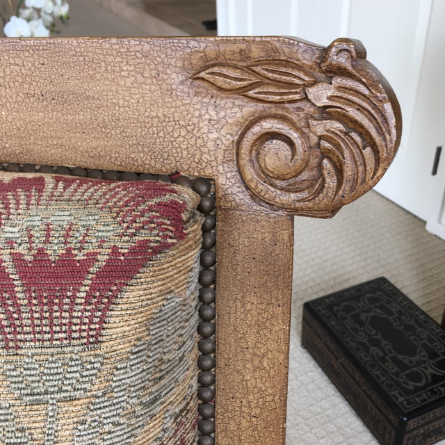 Green Drexel Heritage Accent Chair For Sale - Image 8 of 11