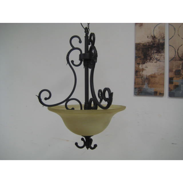 Oil Rubbed Bronze Dome Chandelier - Image 4 of 8