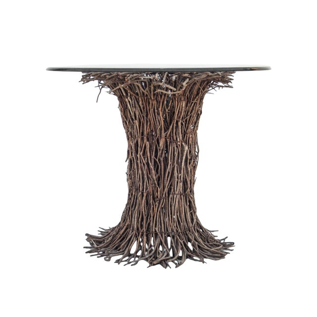 Willow Twig Table Base For Sale - Image 4 of 9
