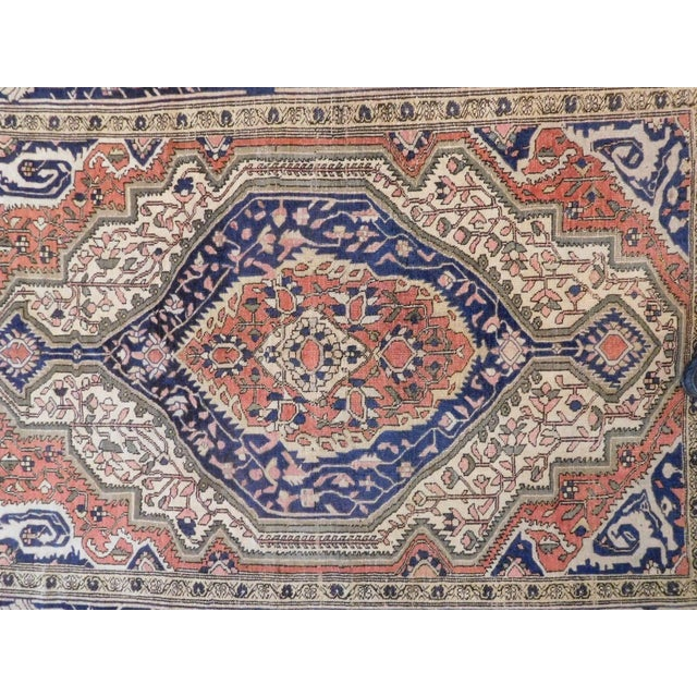 """Early 20th Century Antique Persian Sarouk Farahan Rug - 5'6"""" x 7' For Sale - Image 5 of 10"""