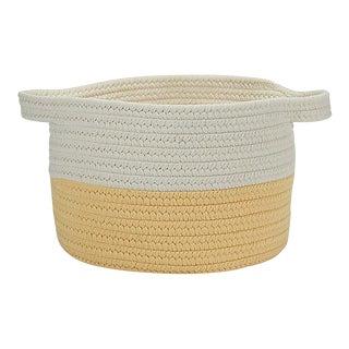 """Beach Bum Basket Yellow 15""""x15""""x12"""" Storage Basket"""