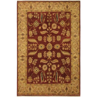 1950's Contemporary Ziegler Tan Wool Rug -8'8 X 11'2 For Sale