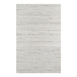 Erin Gates by Momeni Richmond Collins Ivory Indoor/Outdoor Hand Woven Area Rug - 5′ × 7′ For Sale