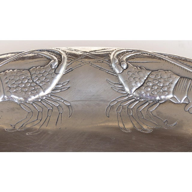 Modern Arthur Court Crab & Lobster Serving Tray W/ Crab Plates - Set of 5 For Sale - Image 3 of 13
