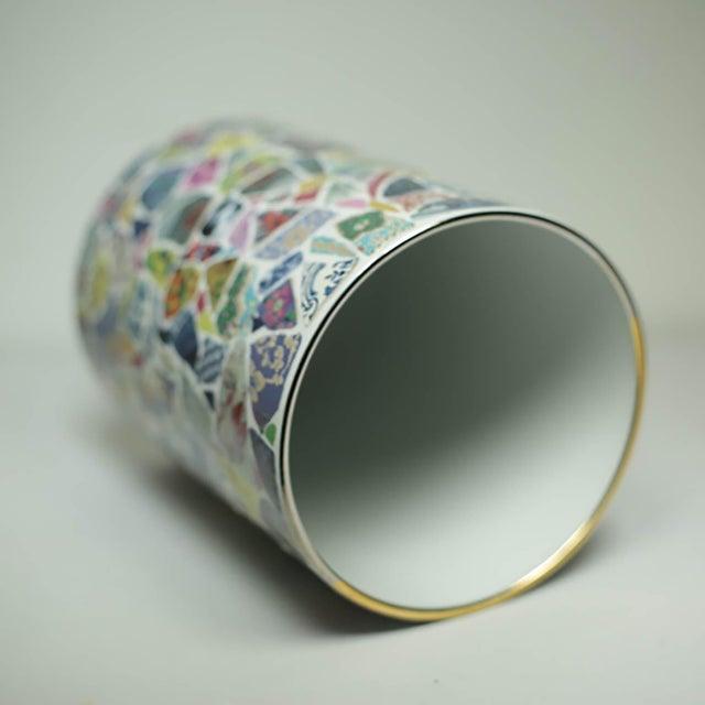 Contemporary Christian Lacroix Picassiette Vase For Sale - Image 3 of 5