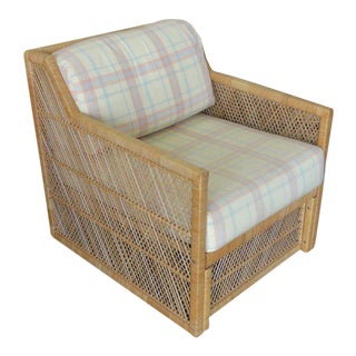Ficks Reed Rattan Lounge Chair