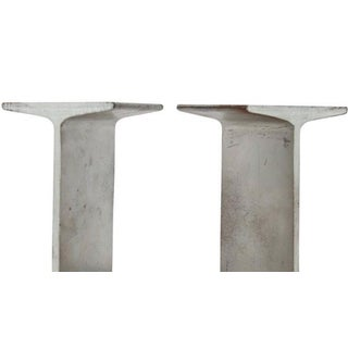 Mid-Century I-Beam Metal Bookends - A Pair Preview