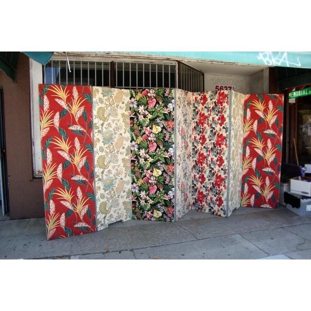 Modern Patterned Room Divider For Sale - Image 9 of 12