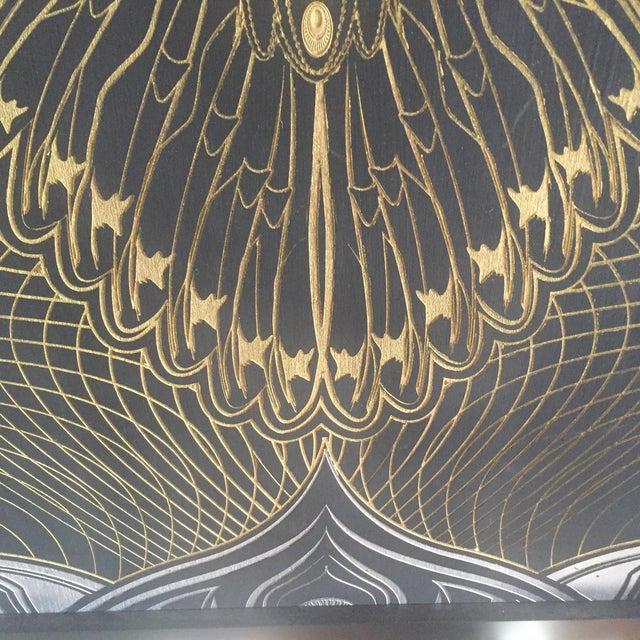 """Owlage"" Original Swarovski Encrusted Painting by Chris Saunders For Sale In Los Angeles - Image 6 of 11"