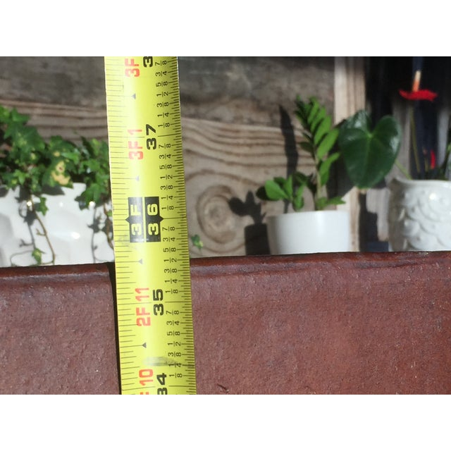 Contemporary Planter Cement Outdoor Planter For Sale - Image 9 of 11
