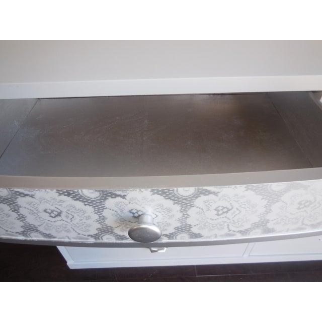 White Mid-Century Modern Dresser - Image 5 of 8