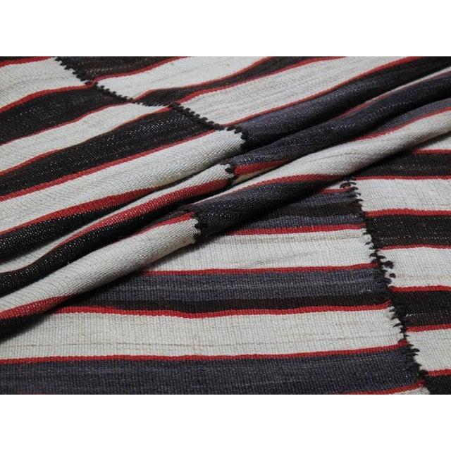 Small Mazanderan Kilim For Sale - Image 9 of 9
