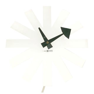 Asterisk Clock by Irving Harper for Howard Miller, 1960s For Sale