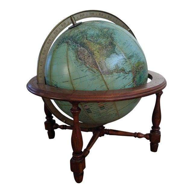 Mid Century Modern Reploge Globe Table Lamp For Sale