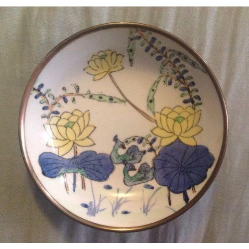 Mid 20th Century Decorative Hand Painted Plate For Sale - Image 5 of 5