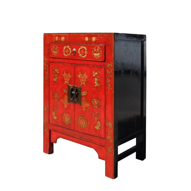 Chinese Side Table Cabinet - Image 3 of 6