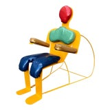 Image of 1960s Vintage Pop Art Chair For Sale