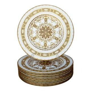 Royal Worcester Dinner Plates - Set of 10 For Sale