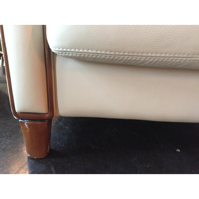 1940s Italian Art Deco Style Club Chair For Sale - Image 5 of 8
