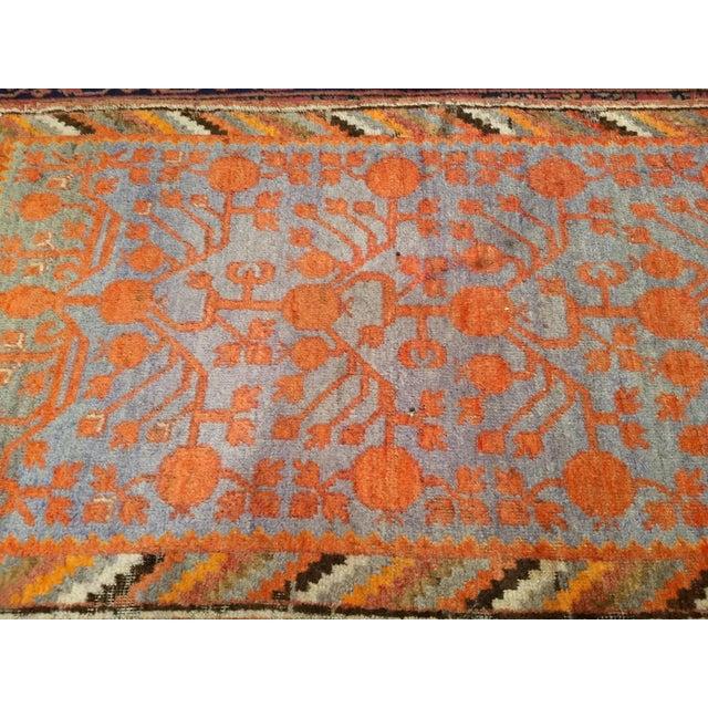 Cotton 19th Century Art Nouveau Khotan Rug Runner - 2′2″ × 8′1″ For Sale - Image 7 of 12