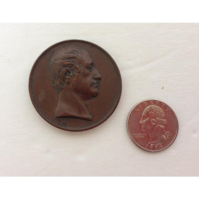 Vintage Medal Medallions & Paperweights - Set of 5 - Image 8 of 9