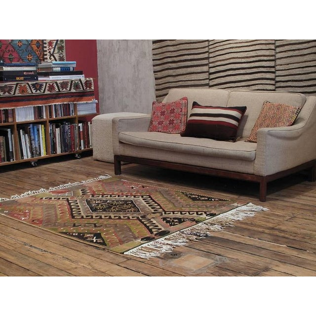 Islamic Small Chal Kilim For Sale - Image 3 of 5