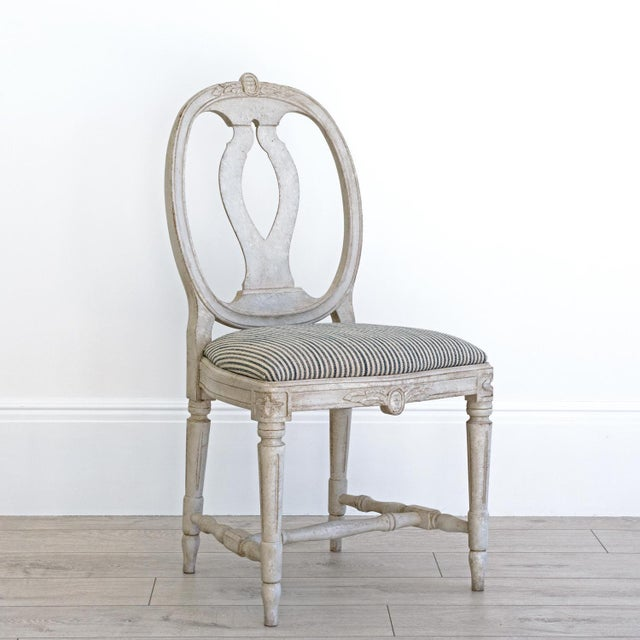 Gray Sköld Gustavian Dining Chair For Sale - Image 8 of 8