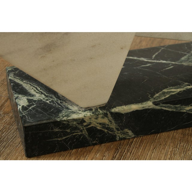 Richard H. Bailey Geometric Marble Sculpture For Sale - Image 11 of 13