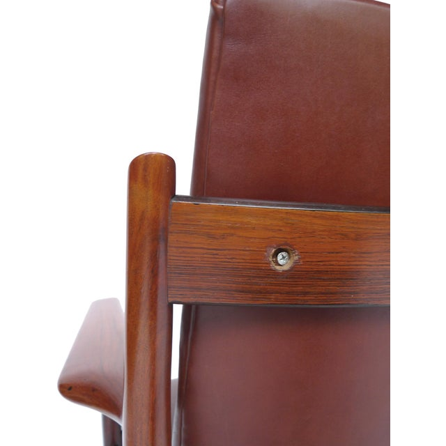 Mid-Century Rosewood Armchairs by Arne Vodder - A Pair - Image 8 of 10