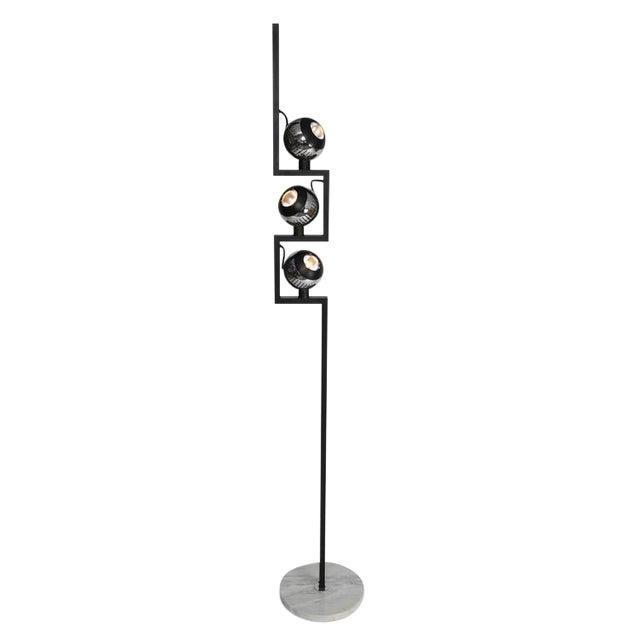 1970S VINTAGE ANGELO LELLI FOR ARREDOLUCE FLOOR LAMP For Sale