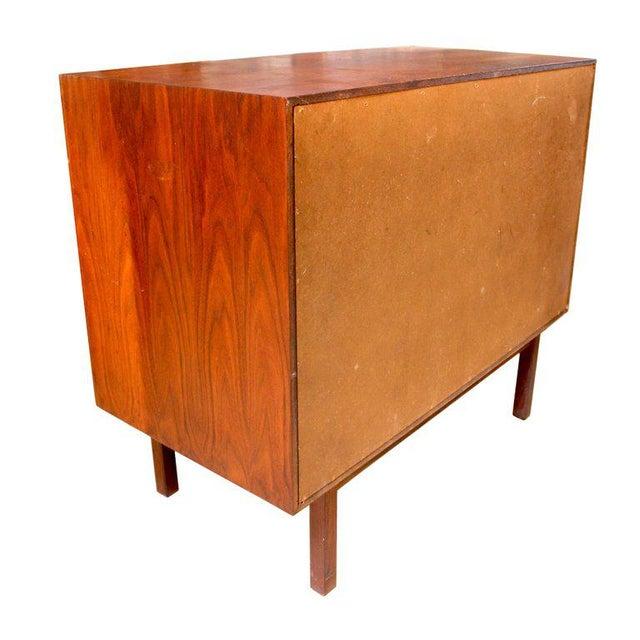 1950s Milo Baughman for Arch Gordon Walnut Four-Drawer Dresser - Image 7 of 10