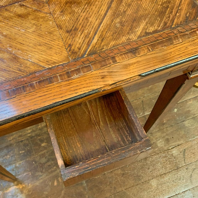 Late 19th Century Late 1800's Napoleon Style Side Table For Sale - Image 5 of 6