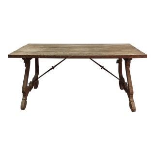 Spanish Style Trestle Table