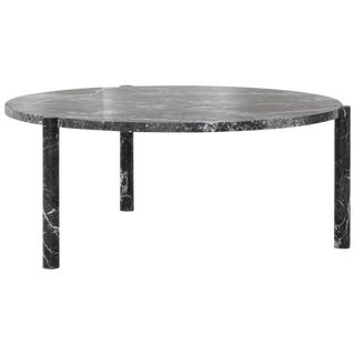 Wc1 Cocktail Table by Ash Nyc in Grigio Carnico Marble For Sale