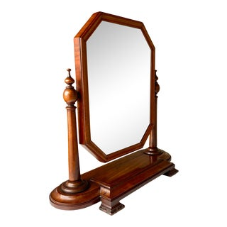 Vintage Gentleman's Vanity Mirror For Sale