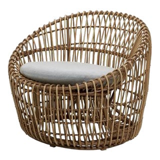 Cane-Line Nest Round Chair For Sale
