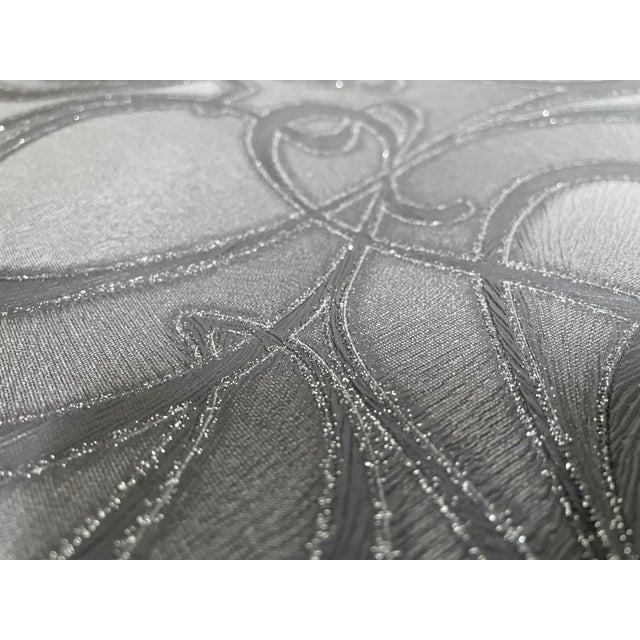 Black Floral wall covering with beaded sparkles are in! Manufacturer: Graham and Brown Made Between: 2010-2020 Non-woven...