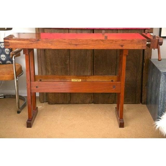 Rhodesian Teak Work Bench - Image 3 of 7