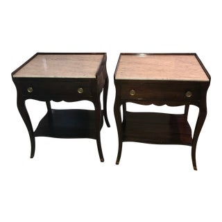 1940s Vintage Night Stands-a Pair For Sale