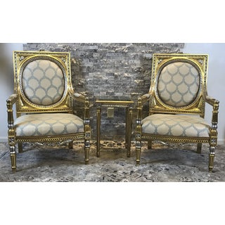 21st Century Vintage Accent Chair Preview