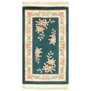 """Pasargad Chinese Art Deco Area Rug - 3'1"""" × 5'1"""" For Sale"""