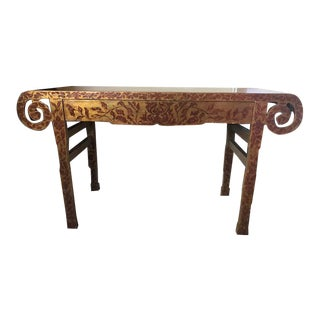 Chinoiserie Rose Tarlow Melrose House Chang Console For Sale