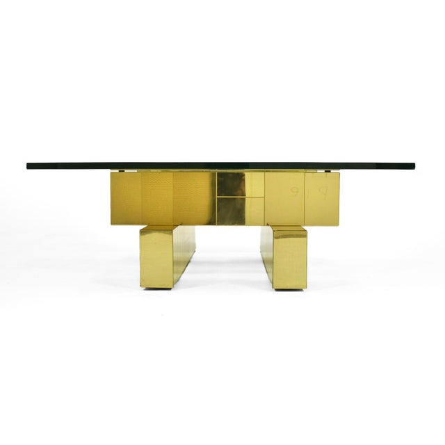 Paul Evans Cityscape Coffee Table by Directional For Sale - Image 10 of 11