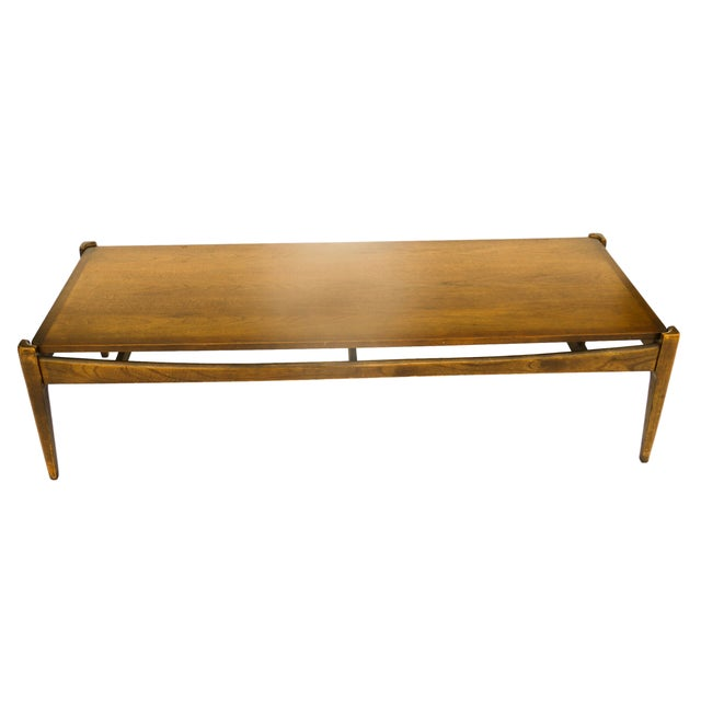 Bassett Mid-Century Modern Coffee Table - Image 4 of 10