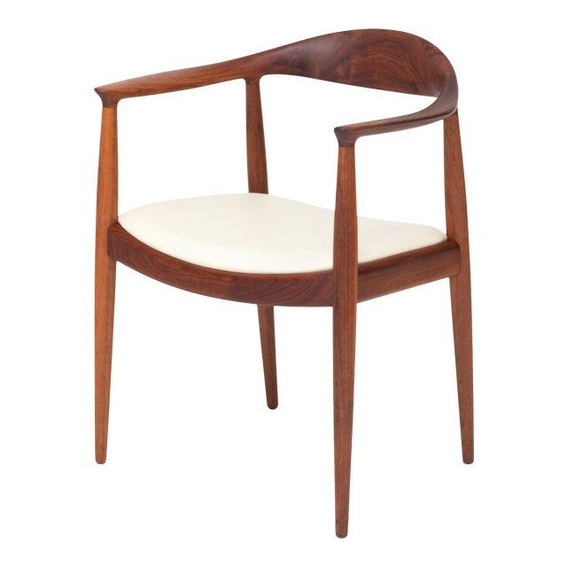 Vintage Danish Modern Teak Jh 503 Chair by Hans Wegner For Sale