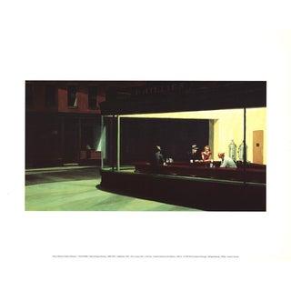 Edward Hopper, Nighthawks, Offset Lithograph, 1997 For Sale
