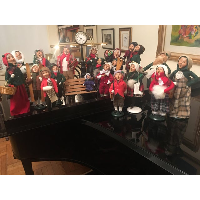 Vintage Christmas handcrafted carolers from 1990s. Everybody knows somebody who had a set of these