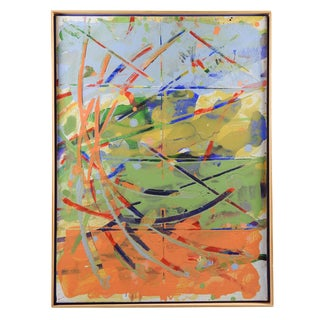 Colorful Abstract Painting For Sale